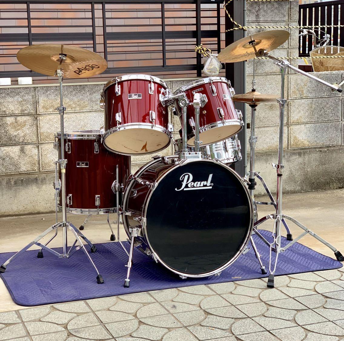 ☆Pearl/パール80'ドラムセット/WILD WINGシリーズ/日本製/程度良好!PAISTE&Zildjianシンバル