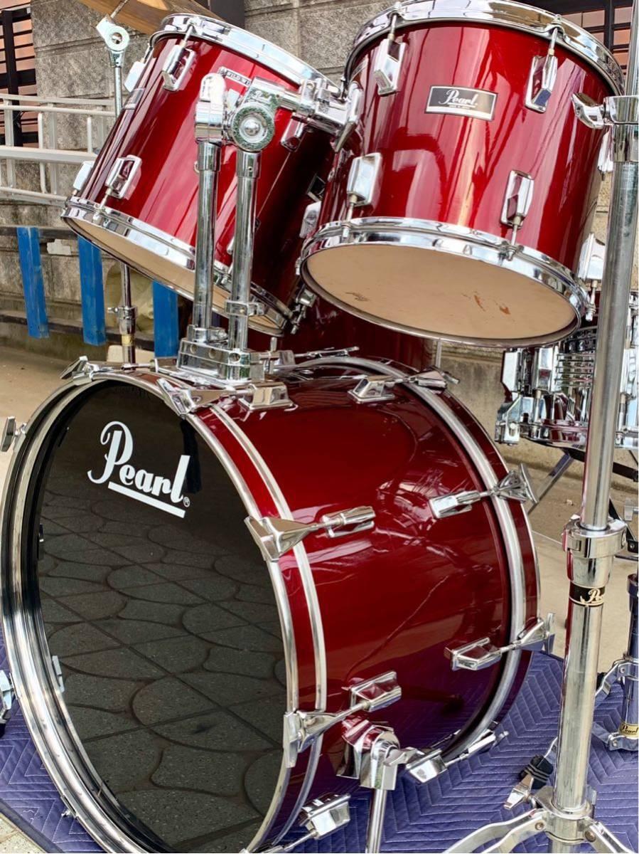 ☆Pearl/パール80'ドラムセット/WILD WINGシリーズ/日本製/程度良好!PAISTE&Zildjianシンバル_画像8