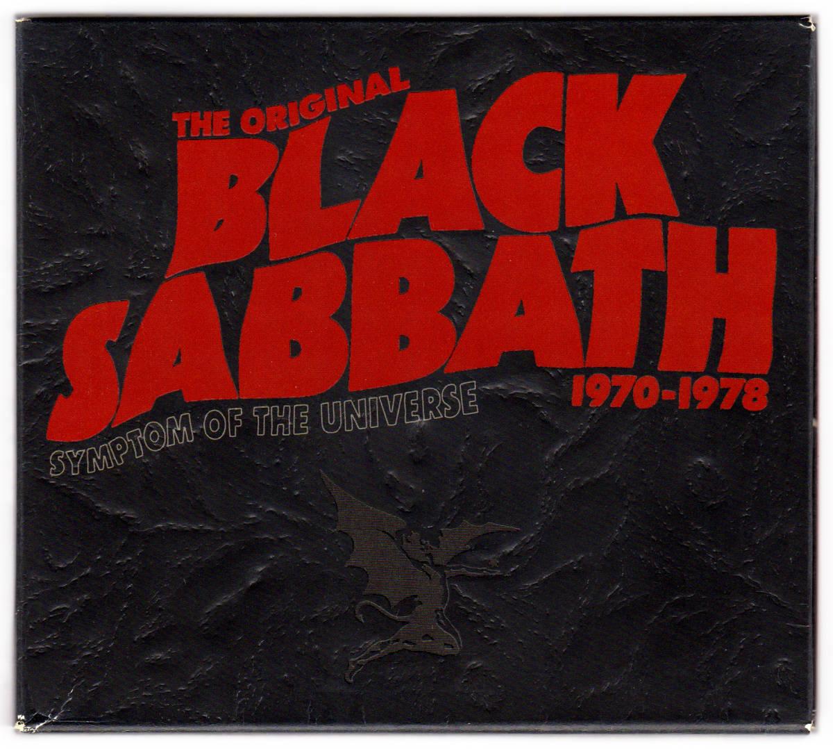 《CD US盤》 BLACK SABBATH 1970-1978 symptom of the universe 2枚組 rhinoのリマスターで出た選曲・音質とも評価の高い傑作ベスト