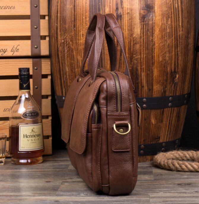 【定価65万】*人気推薦*高品質 上層牛革メンズビジネスバッグ コンピューターバッグ 鞄 ハンドバッグ メンズバッグ ショルダーバッグ_画像6