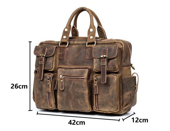 【定価65万】.【純手工細作】上層牛革100%メンズビジネスバッグ 書類かばん ビジネスバッグ ショルダーバッグ メンズバッグ 鞄_画像8