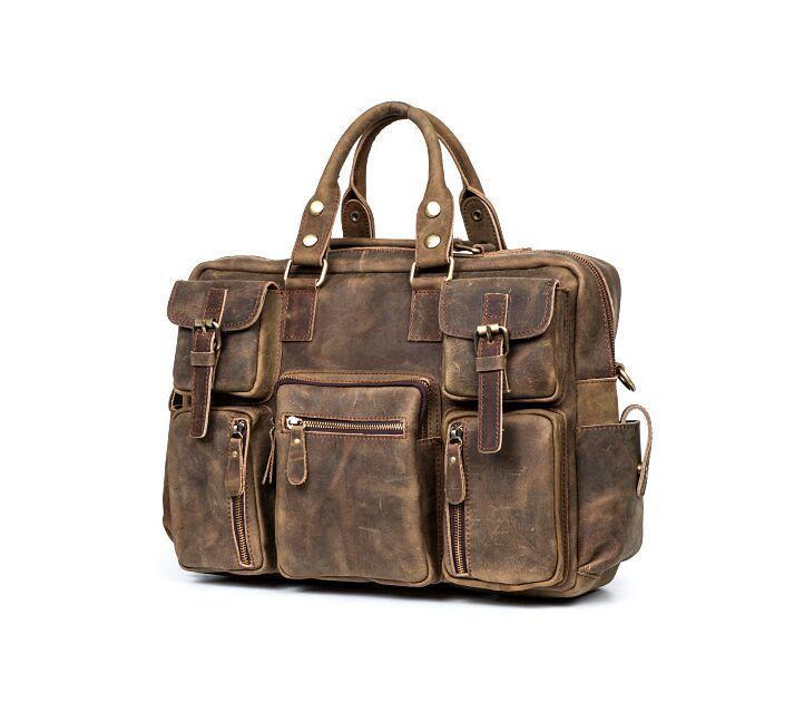 【定価65万】.【純手工細作】上層牛革100%メンズビジネスバッグ 書類かばん ビジネスバッグ ショルダーバッグ メンズバッグ 鞄_画像2