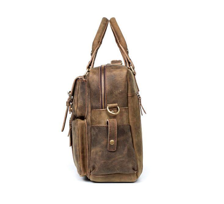 【定価65万】.【純手工細作】上層牛革100%メンズビジネスバッグ 書類かばん ビジネスバッグ ショルダーバッグ メンズバッグ 鞄_画像5