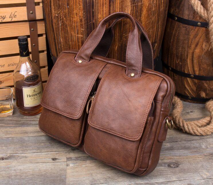 【定価65万】*人気推薦*高品質 上層牛革メンズビジネスバッグ コンピューターバッグ 鞄 ハンドバッグ メンズバッグ ショルダーバッグ_画像3