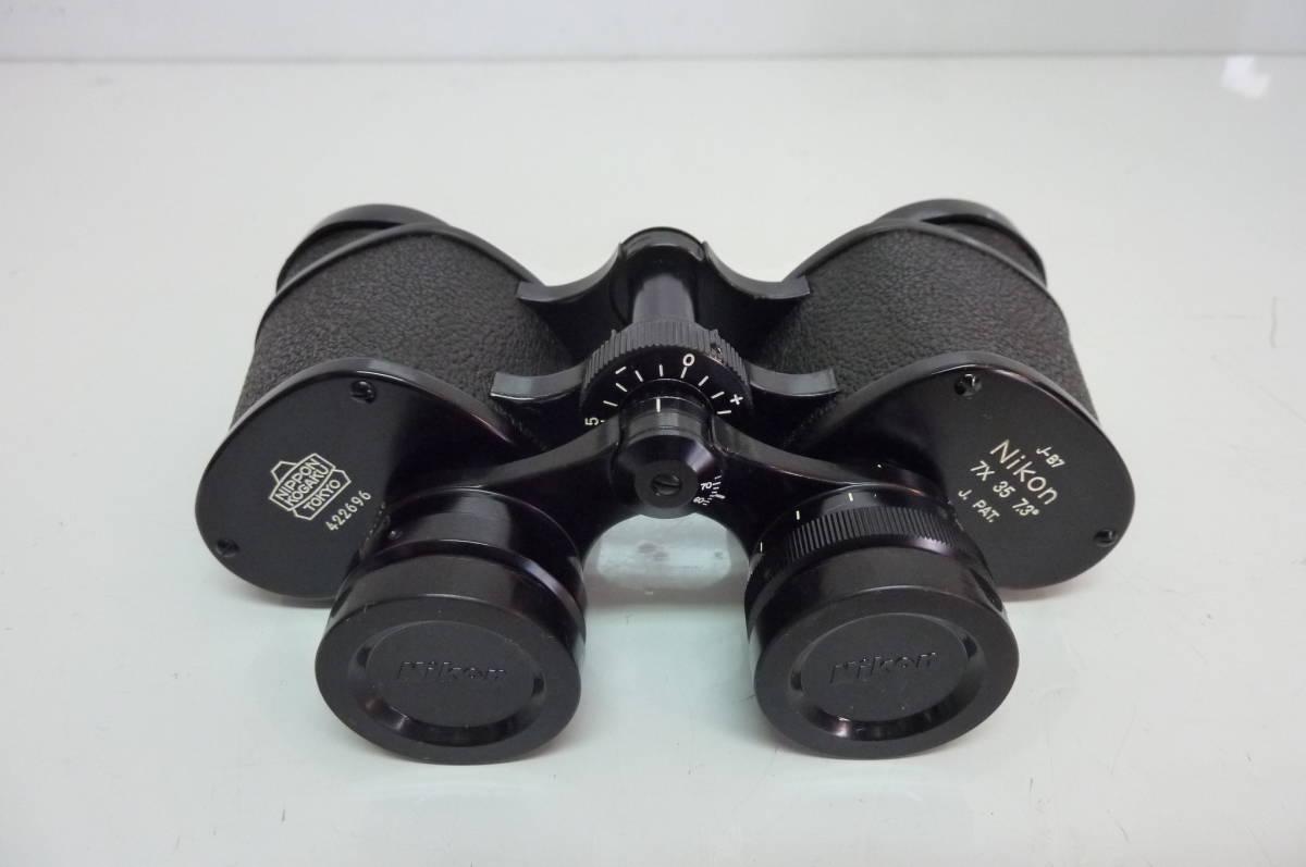 ★ Nikon 双眼鏡 7× 35A 7.3° J-B7 Feather-Weight BINOCULARS 美品 ★_画像10