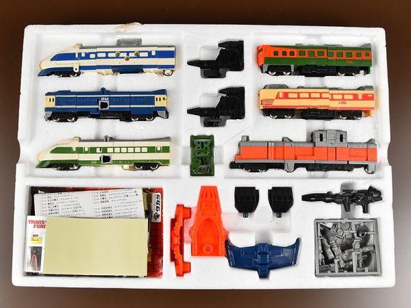◆ レア 超美品 ◆ トランスフォーマー サイバトロン ◆ C-131 ◆ トレインボット 重連合体戦士 ライデン タカラ シール未使用_画像2