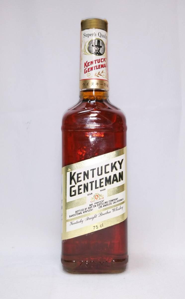 【全国送料無料】特級 KENTUCKY GENTLEMAN 4years old 43度 750ml(ケンタッキージェントルマン4年)_画像2