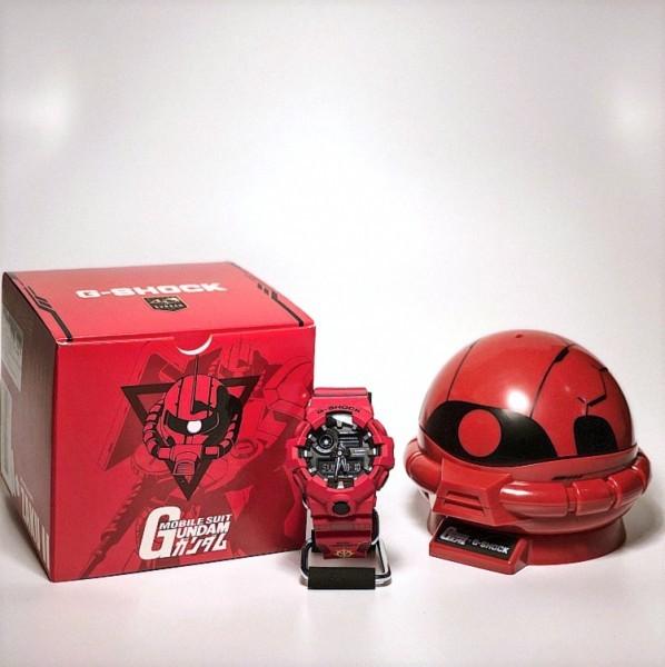【新品】【1円スタート】日本未発売 極レア品 海外限定 カシオG-Shock ガンダム 40周年 G-Shock シャア ザク MS-06S CHAR'S ZAKU Ⅱ GUNDAM
