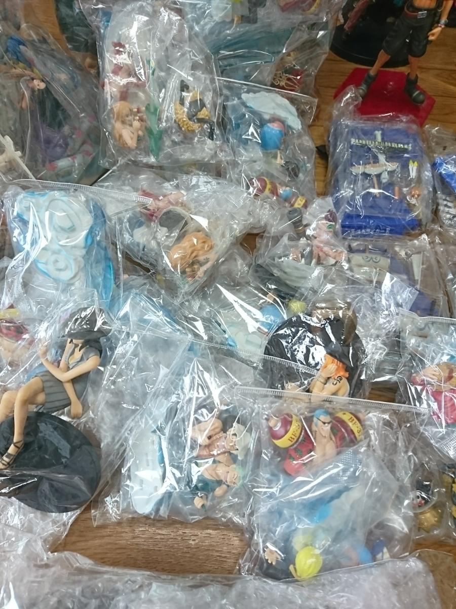 ワンピース ONE PIECE フィギュア ドラゴンボール 銀魂 キングダム ジャンプ系フィギュア 135個以上 大量 まとめ売り 1円スタート_画像8