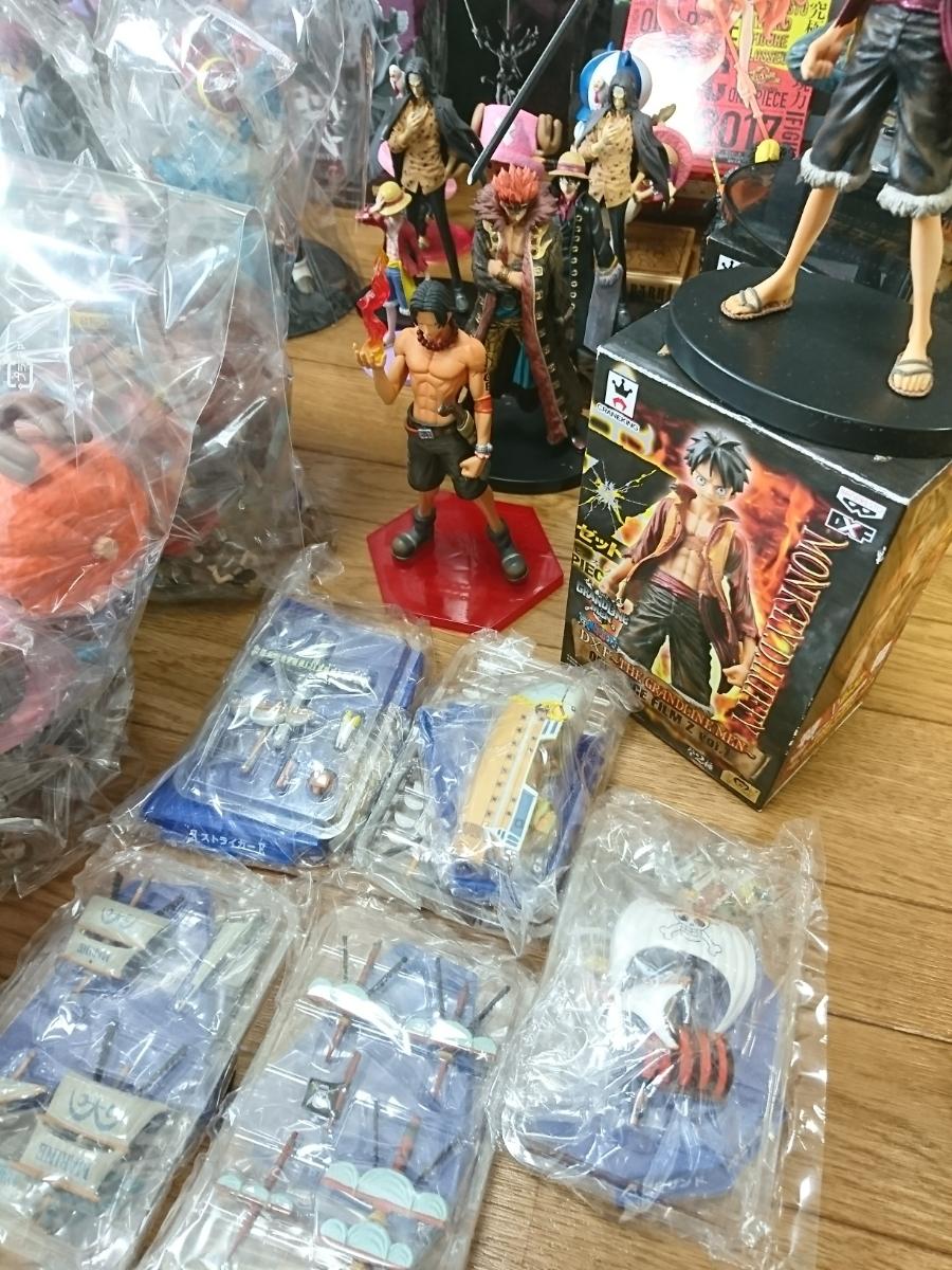 ワンピース ONE PIECE フィギュア ドラゴンボール 銀魂 キングダム ジャンプ系フィギュア 135個以上 大量 まとめ売り 1円スタート_画像6
