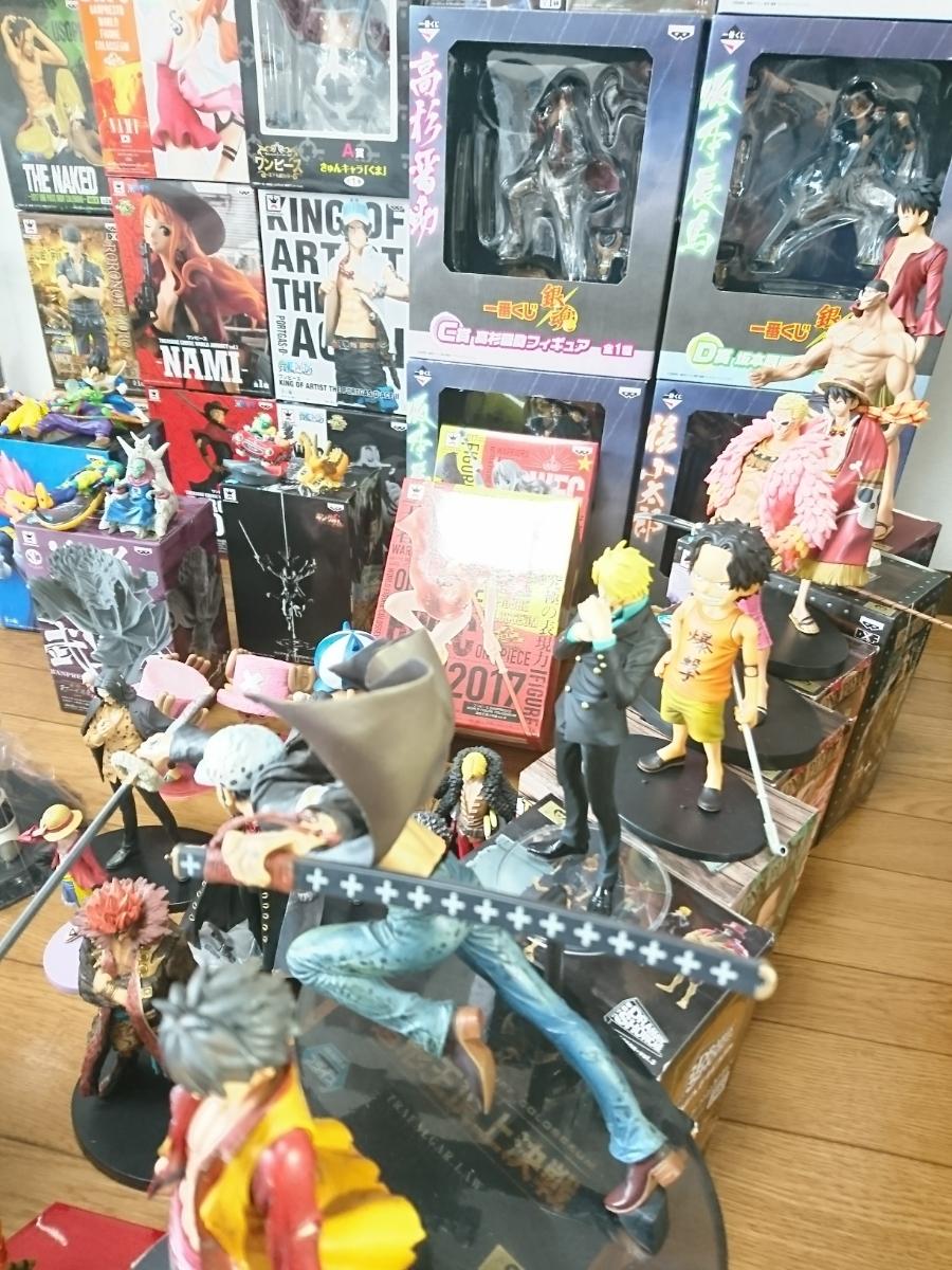 ワンピース ONE PIECE フィギュア ドラゴンボール 銀魂 キングダム ジャンプ系フィギュア 135個以上 大量 まとめ売り 1円スタート_画像5