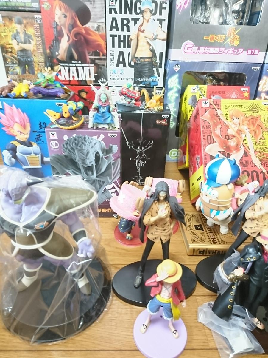ワンピース ONE PIECE フィギュア ドラゴンボール 銀魂 キングダム ジャンプ系フィギュア 135個以上 大量 まとめ売り 1円スタート_画像9
