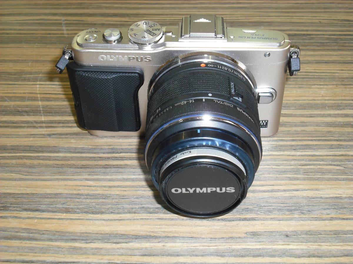 ■カメラ(中古品) 『OLYMPUS PEN Lite E-PL6』