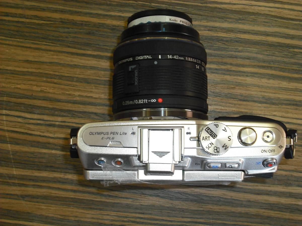 ■カメラ(中古品) 『OLYMPUS PEN Lite E-PL6』_画像5