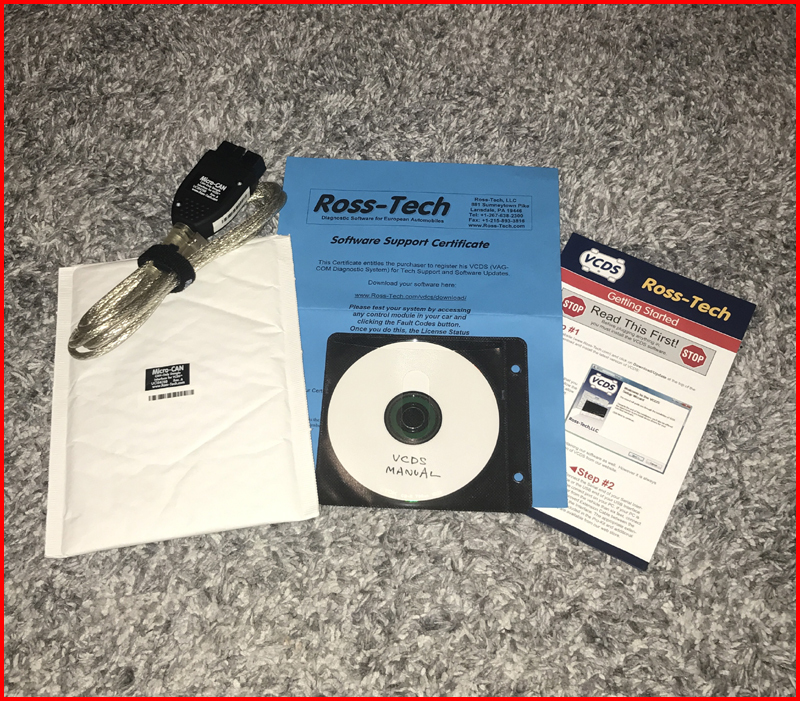 regular goods Ross-Tech Roth Tec Micro-CAN cable VCDS coding