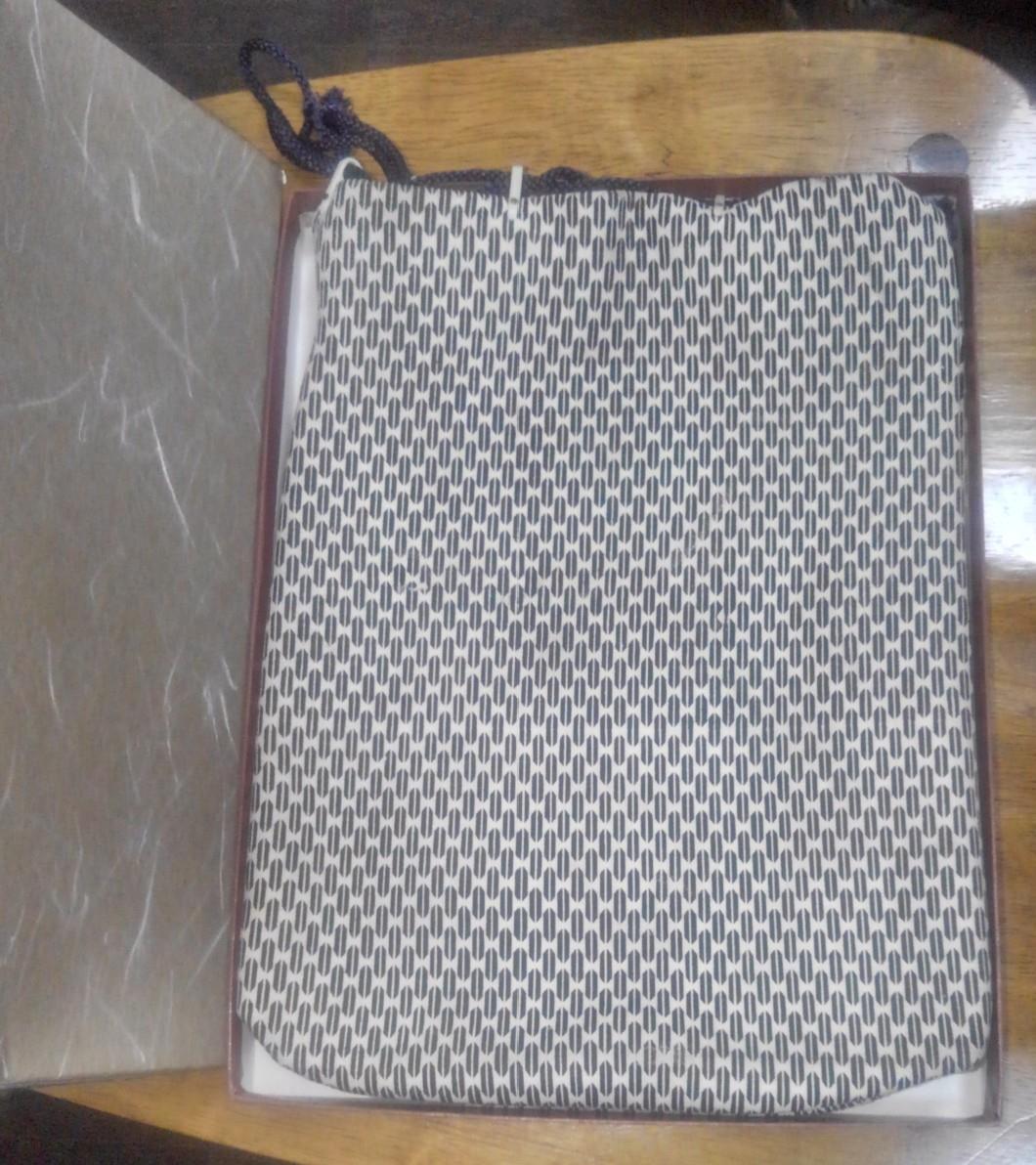 印傳屋 印伝 230 合切袋 (合才袋) 漆 皮 弓道_画像2