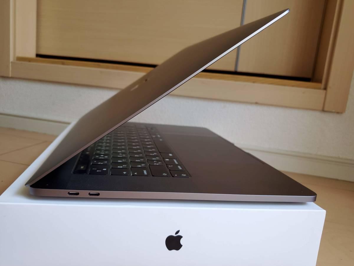 1円~ ●○美品●○ MacBook Pro 15インチ 2018 CTO Space Gray/スペースグレイ i9 2.9GHz SSD512GB メモリ16GB 新品同様_画像6