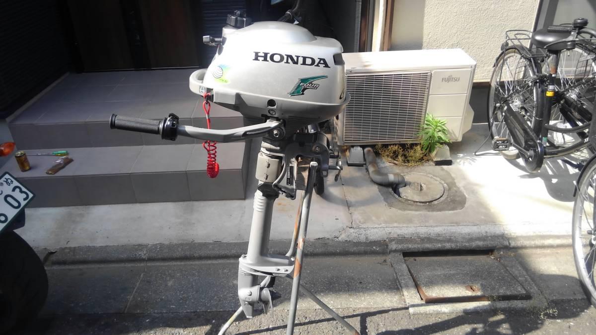 ホンダ 2馬力船外機 各部部品交換2.3PS仕様