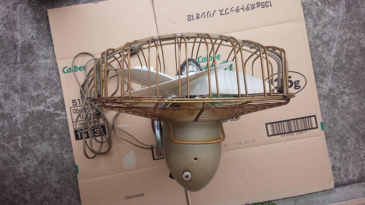 三菱 MITSUBISHI アンティーク 扇風機 DM-12LC リモコン付き 動作品 昭和レトロ_画像5