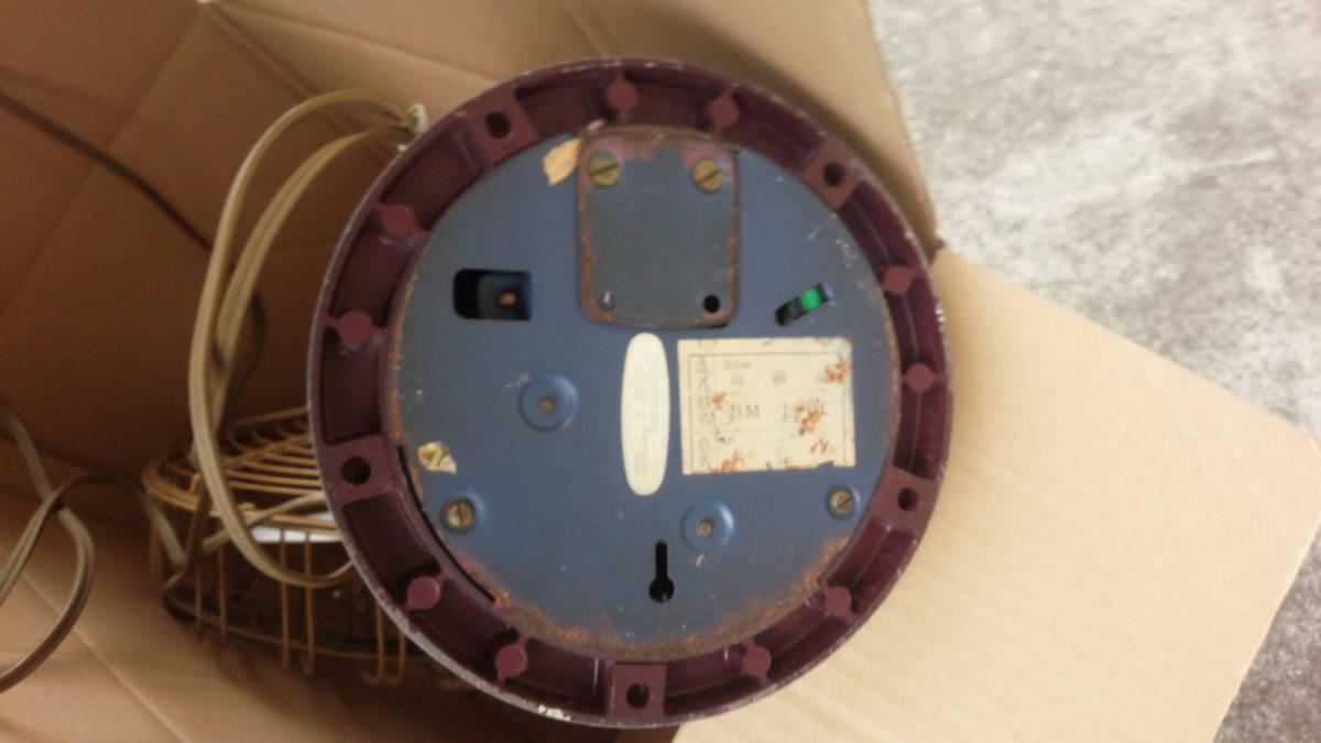 三菱 MITSUBISHI アンティーク 扇風機 DM-12LC リモコン付き 動作品 昭和レトロ_画像7