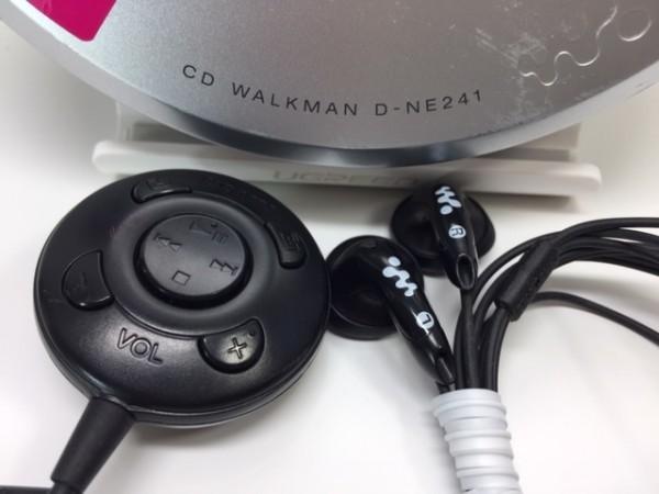 (054-03) 1円~[ 良品 動作品 ] SONY CDウォークマン D-NE241 シルバー ♪ CD-R/RW / MP3再生OK/ 音とびに強い耐振機構搭載 G-Protection_画像8