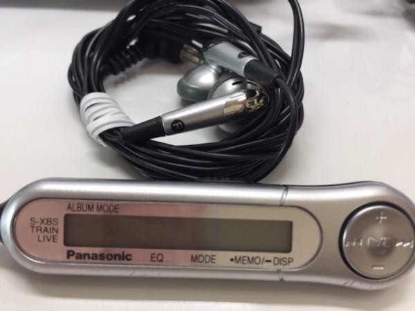 (054-02) 1円~[ 美品 動作品 ] Panasonic ポータブルCDプレーヤーSL-CT800 ブラック ♪ CD-R/RW / MP3再生OK_画像7