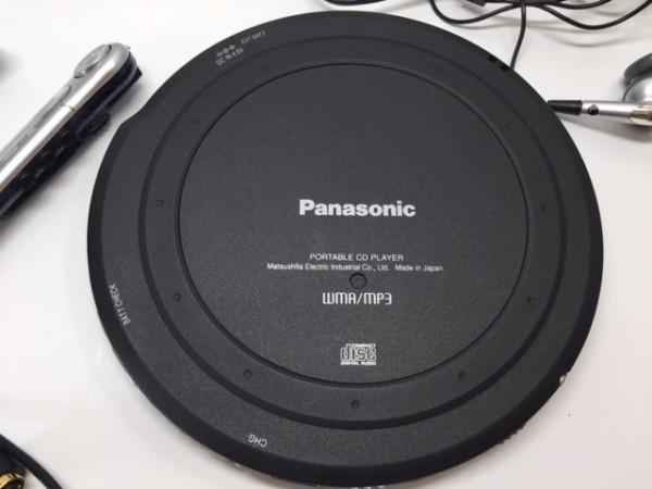 (054-02) 1円~[ 美品 動作品 ] Panasonic ポータブルCDプレーヤーSL-CT800 ブラック ♪ CD-R/RW / MP3再生OK_画像5