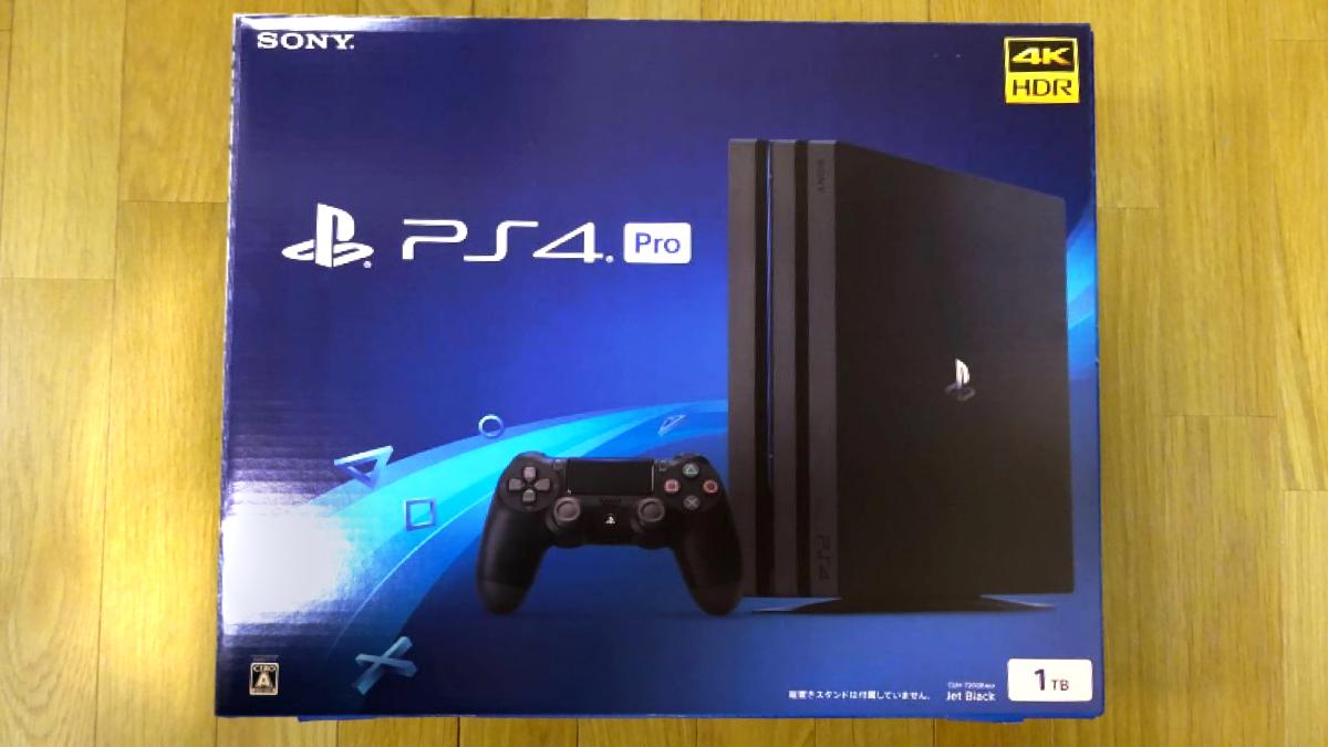 SONY PS4 pro プレイステーション4 pro CUH-7200B B01 1TB ジェットブラック
