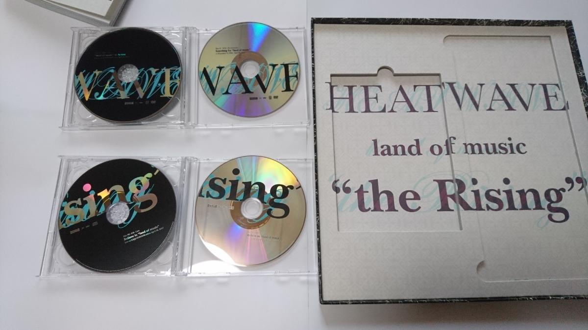 """ヒートウェイヴ HEATWAVE CD「land of music」+ BOXセット「land of music """"the Rising""""」2DVD+2CD+BOOK エコバッグなし_画像4"""
