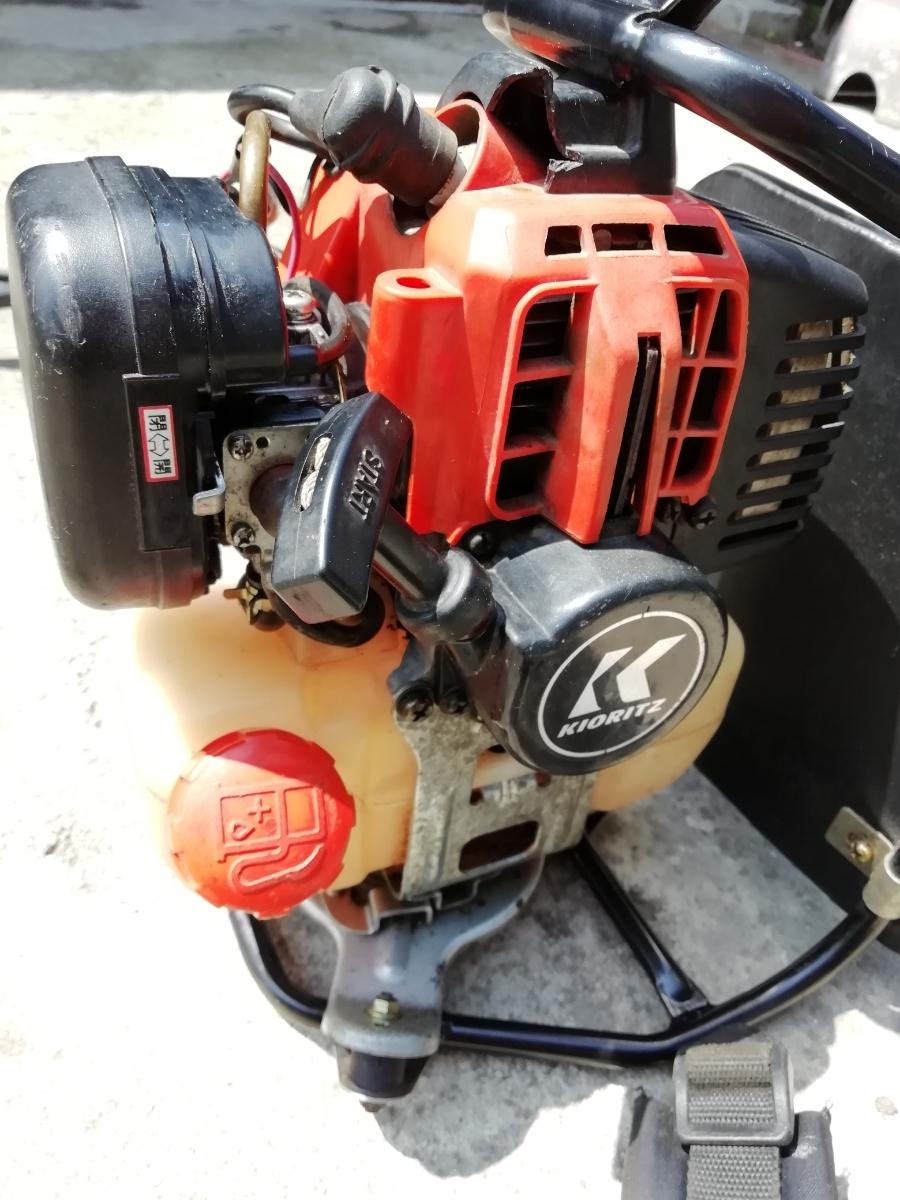 KIORITZ 共立 RMC260A 背負式刈払機 25.4cc 2サイクルエンジン【セルフ整備済み】(検索)ゼノアマキタ新ダイワカーツハスクバーナビーバー_画像5