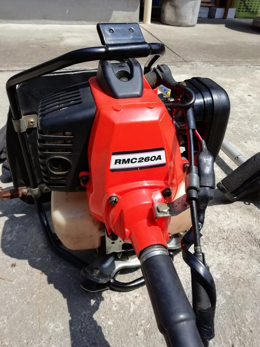 KIORITZ 共立 RMC260A 背負式刈払機 25.4cc 2サイクルエンジン【セルフ整備済み】(検索)ゼノアマキタ新ダイワカーツハスクバーナビーバー_綺麗な方です