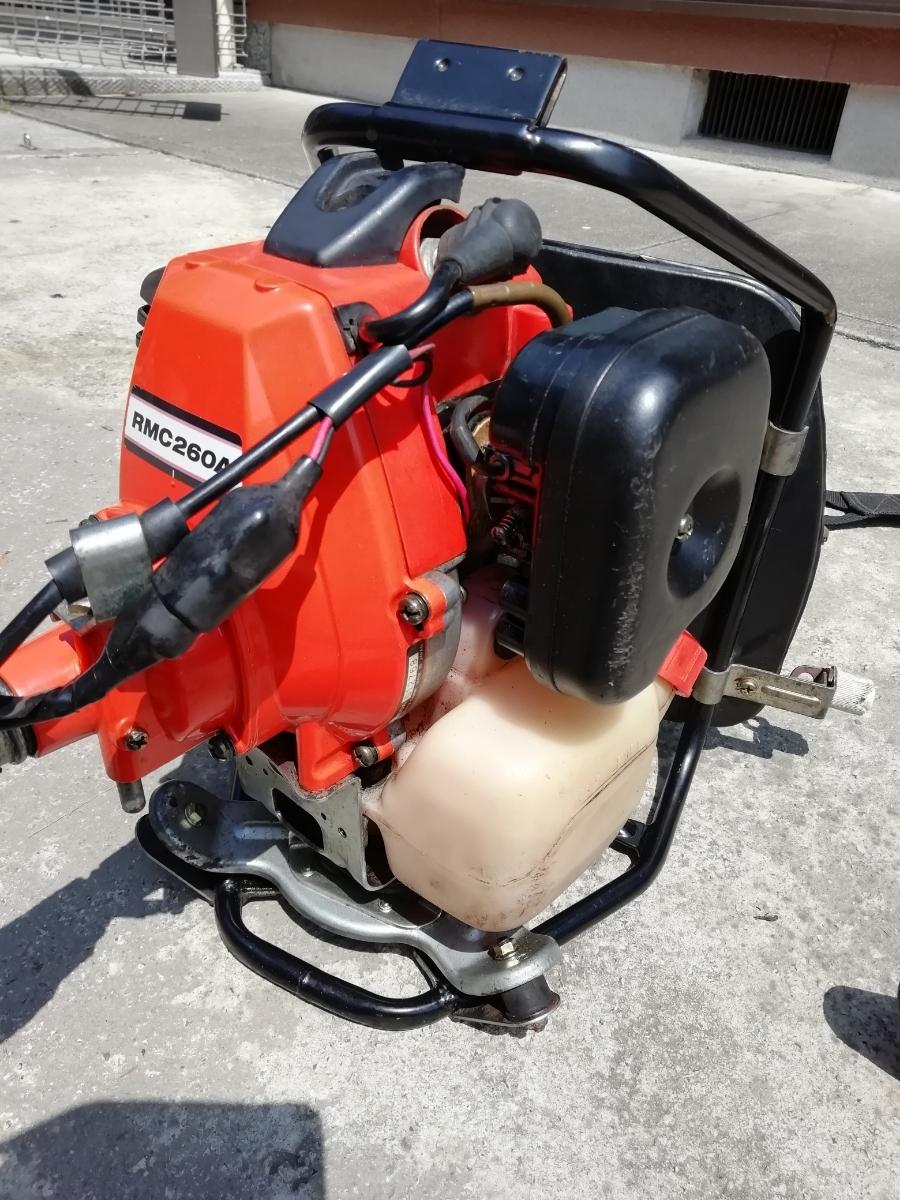 KIORITZ 共立 RMC260A 背負式刈払機 25.4cc 2サイクルエンジン【セルフ整備済み】(検索)ゼノアマキタ新ダイワカーツハスクバーナビーバー_画像3