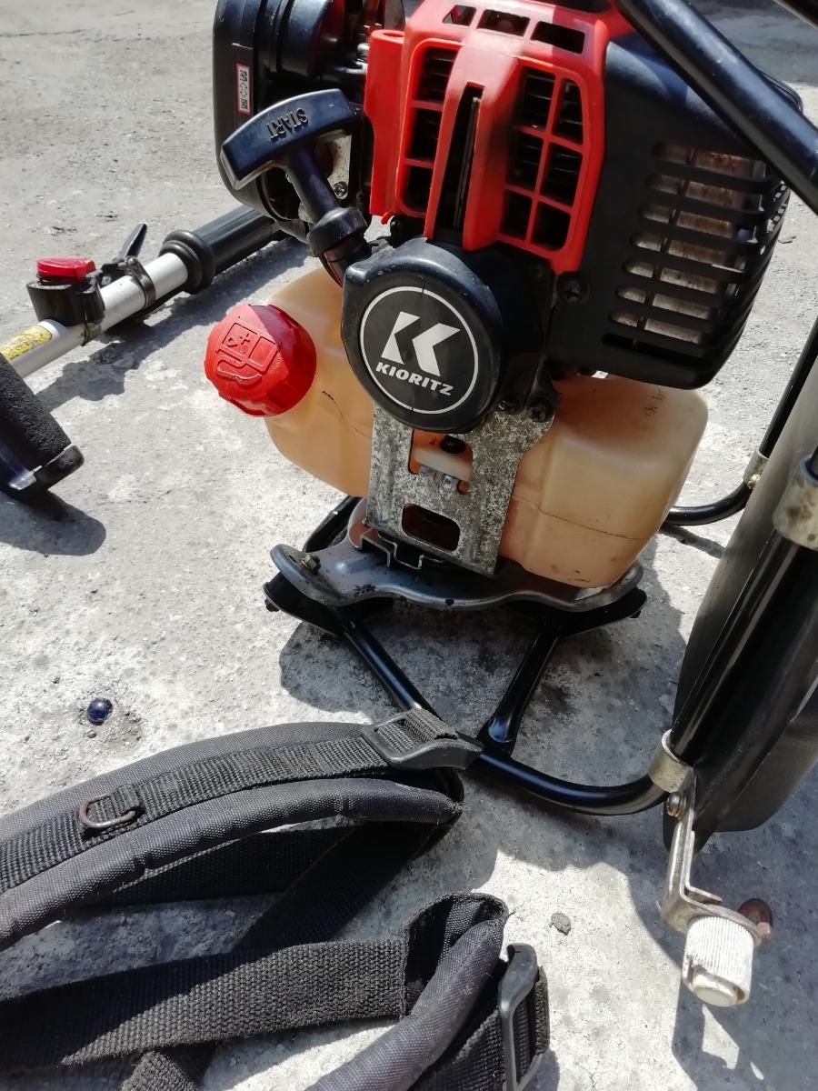 KIORITZ 共立 RMC260A 背負式刈払機 25.4cc 2サイクルエンジン【セルフ整備済み】(検索)ゼノアマキタ新ダイワカーツハスクバーナビーバー_画像4