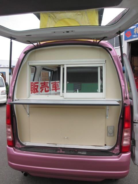 大幅値下げ!! スバル サンバー 移動販売車! キッチンカー! シート張替済み!! _画像6