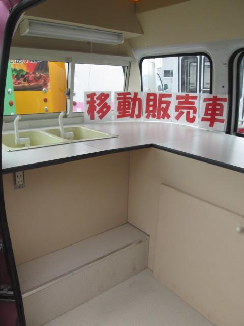 大幅値下げ!! スバル サンバー 移動販売車! キッチンカー! シート張替済み!! _画像4