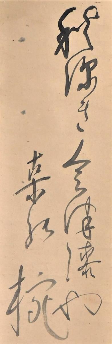 【蔵出】小川芋銭 掛け軸 紙本 水墨 淡彩 肉筆 箱付 日本美術院同人 帝国美術院参与_画像3