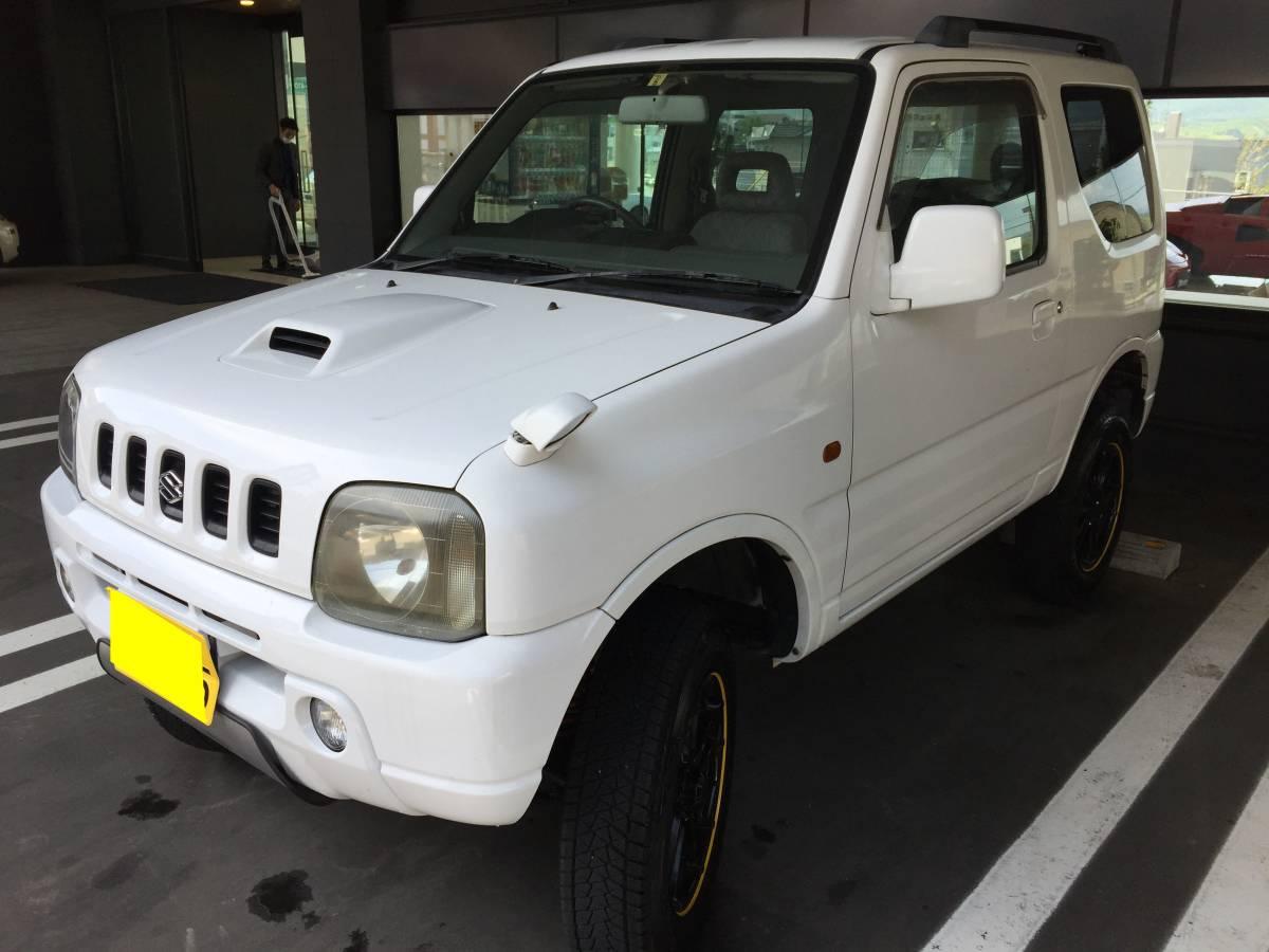 【北海道札幌発】H12年 ジムニー JB23W ■AT 4WD ■ ジャンク 1,000円売切!! 【2433】_画像4