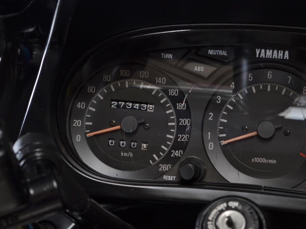 FJ1200 3XW 走行距離27343km 逆車130馬力 車検無し_画像2