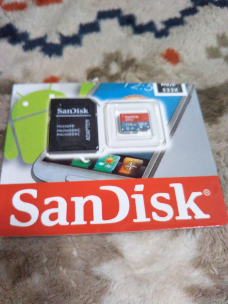 sandisk マイクロSDカード256GB、_画像2