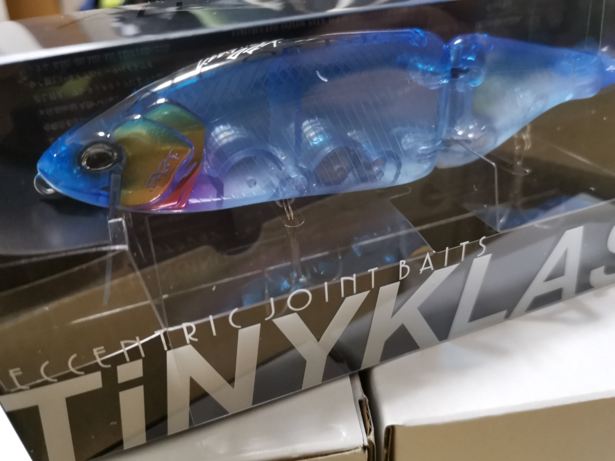 DRT タイニークラッシュ TINYKLASH 淡海ブルー 3点セット ふるさと納税 限定 タイニー クラッシュ ビッグベイト_画像2