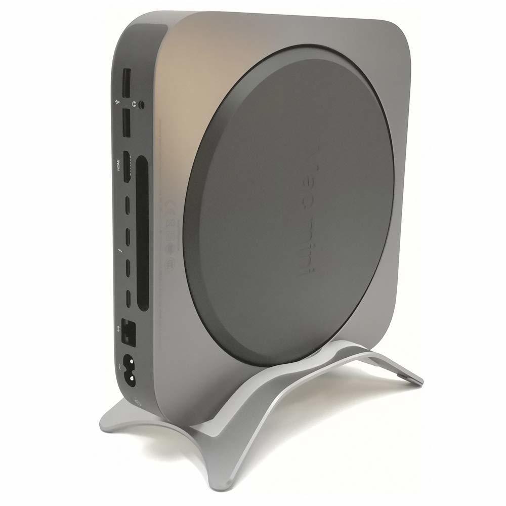 マックミニアルミスタンド 全モデル スペースグレー デスクトップスタンド  mac macbook macbookpro_画像4