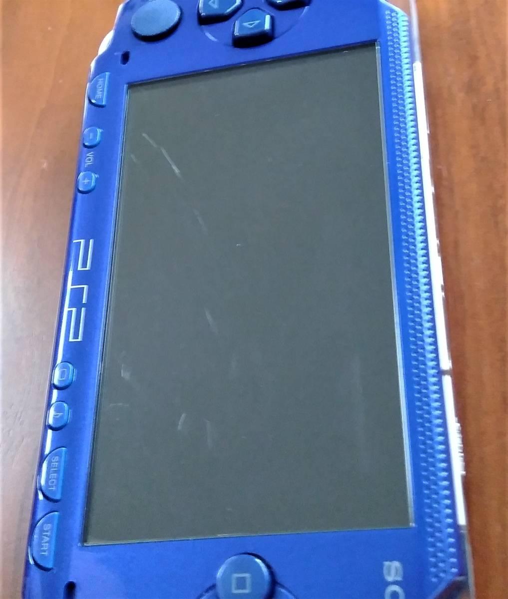 PSP1000本体メタリックブルー「テイルズ オブ ザ ワールド レディアント マイソロジー スペシャルパック」ソフト特典未開封未使用 動作OK!!_画像6