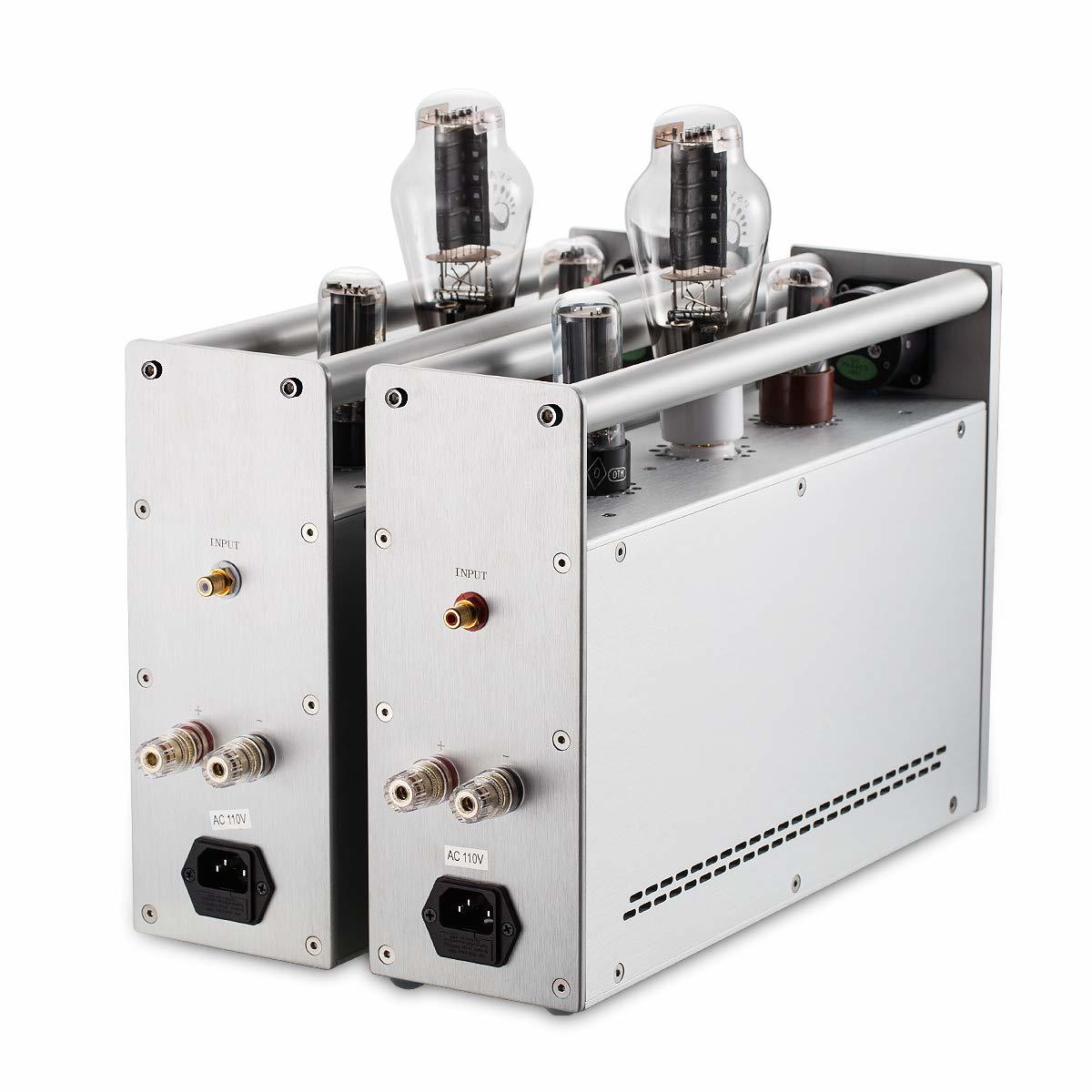 新品 Nobsound 300B Monoblock 真空管アンプ 内蔵アンプ A級 HiFi パワーアンプ オーディオアンプ バルブアンプ (SKU:DJ467-JJテスラ300B)_画像4