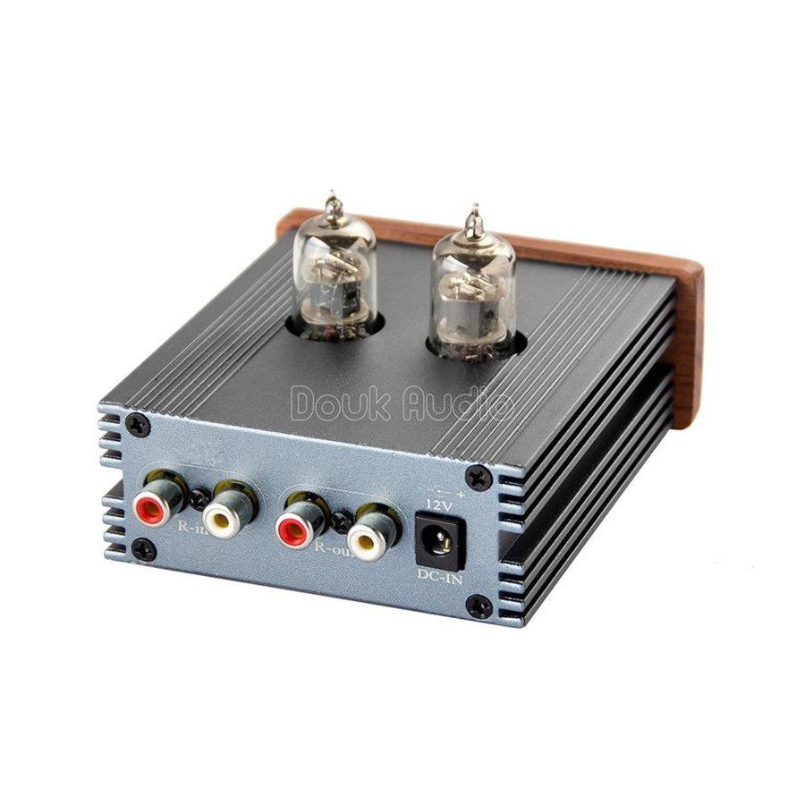 新品 Nobsound ステレオ 6J1 真空管 ヘッドフォンアンプ HiFi プリアンプ Mini 真空管アンプ パワーアンプ パイプアンプ (SKU:DJ260) b _画像5