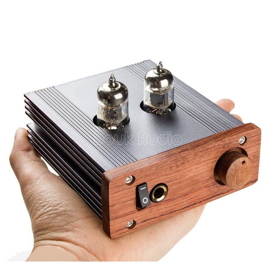 新品 Nobsound ステレオ 6J1 真空管 ヘッドフォンアンプ HiFi プリアンプ Mini 真空管アンプ パワーアンプ パイプアンプ (SKU:DJ260) b _画像1
