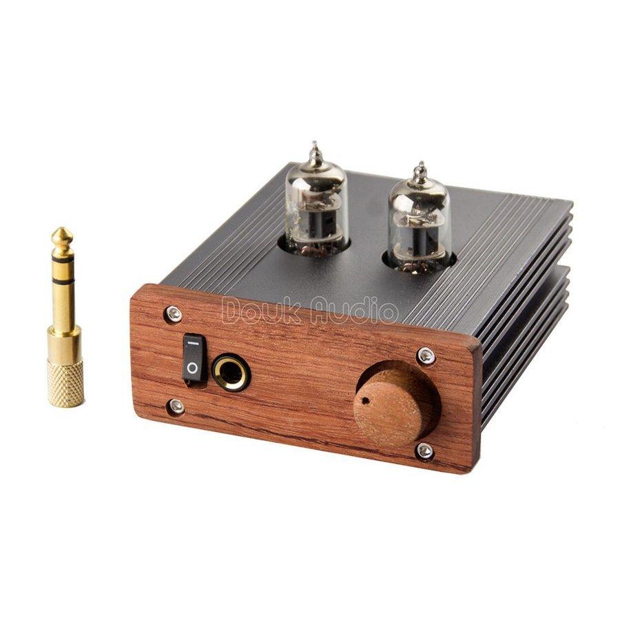 新品 Nobsound ステレオ 6J1 真空管 ヘッドフォンアンプ HiFi プリアンプ Mini 真空管アンプ パワーアンプ パイプアンプ (SKU:DJ260) b _画像2