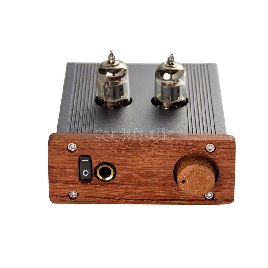 新品 Nobsound ステレオ 6J1 真空管 ヘッドフォンアンプ HiFi プリアンプ Mini 真空管アンプ パワーアンプ パイプアンプ (SKU:DJ260) b _画像3