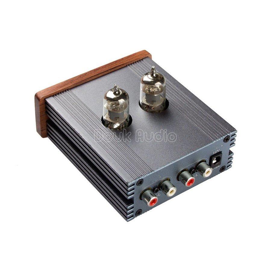 新品 Nobsound ステレオ 6J1 真空管 ヘッドフォンアンプ HiFi プリアンプ Mini 真空管アンプ パワーアンプ パイプアンプ (SKU:DJ260) b _画像6