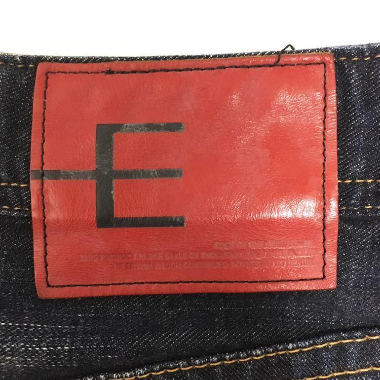 EDWIN エドウィン EG5001 立体裁断 デニム ジーンズ サイズM 3D E-FUNCTION イーファンクション_画像8