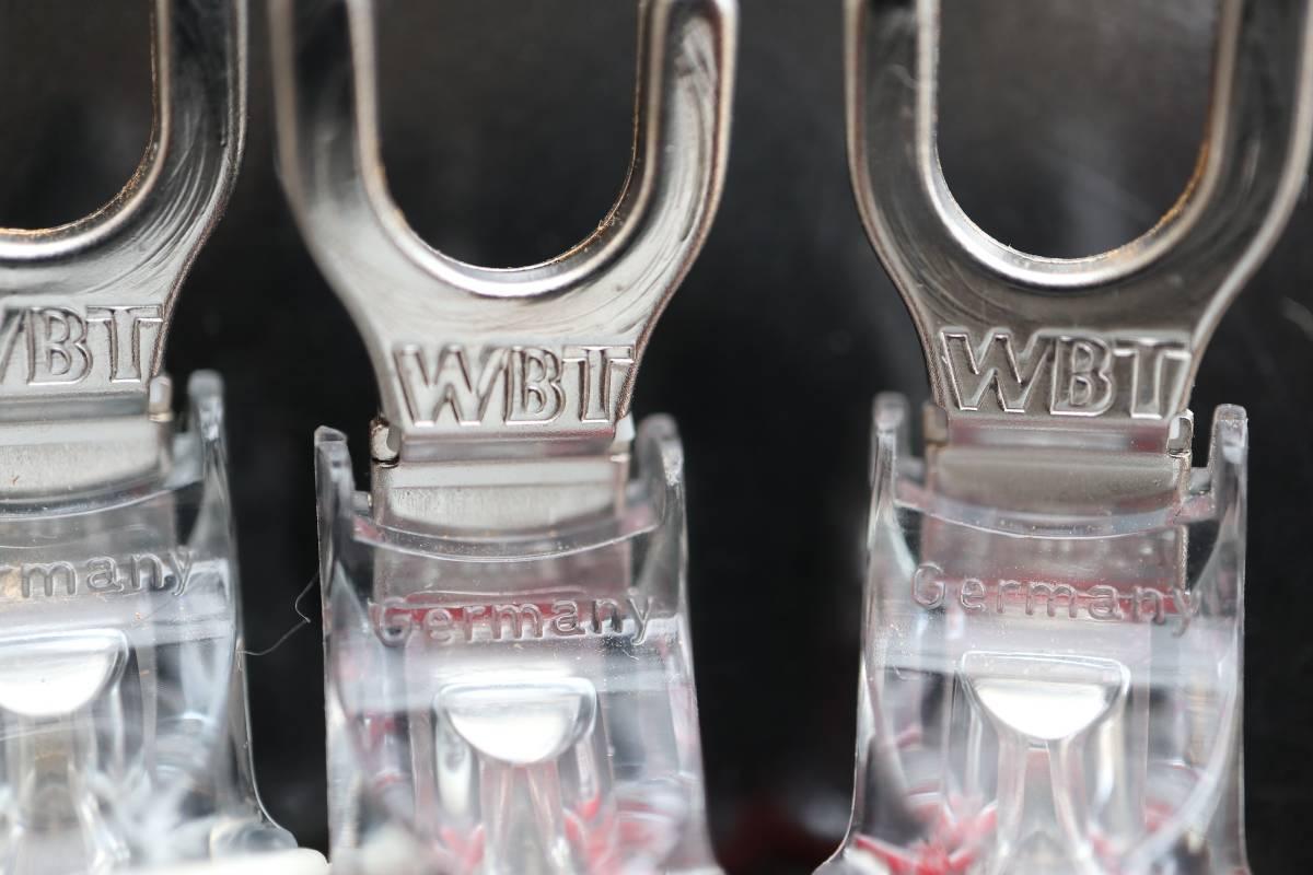 さらに値下げ ■ 美品 ■ 【WBT】■ WBT-0681Ag 純銀 Yプラグ ①_画像1
